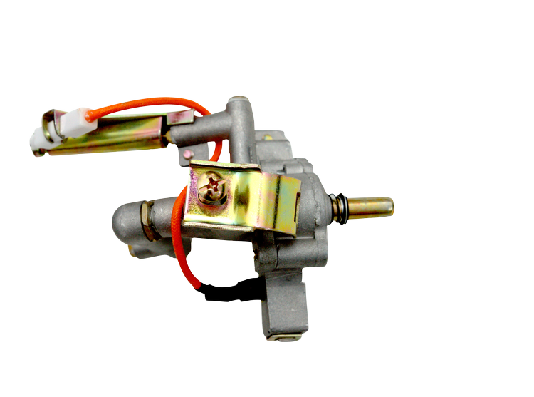 Gas nozzle with regulator individually Pro Serie