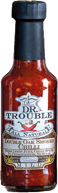 Dr. Trouble Double Oak Smoked Chilli Sauce