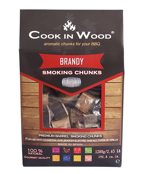Brandy Chunks / Smoked wood pieces