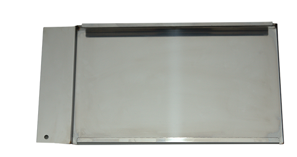 Grease tray for high temperature field