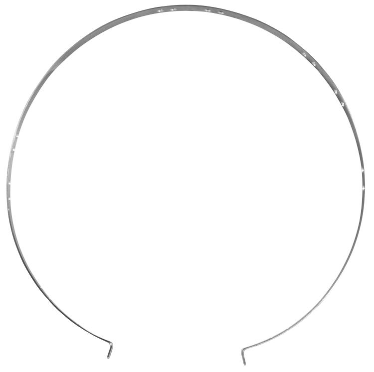 Steel strap for hood XL (version from 2017)