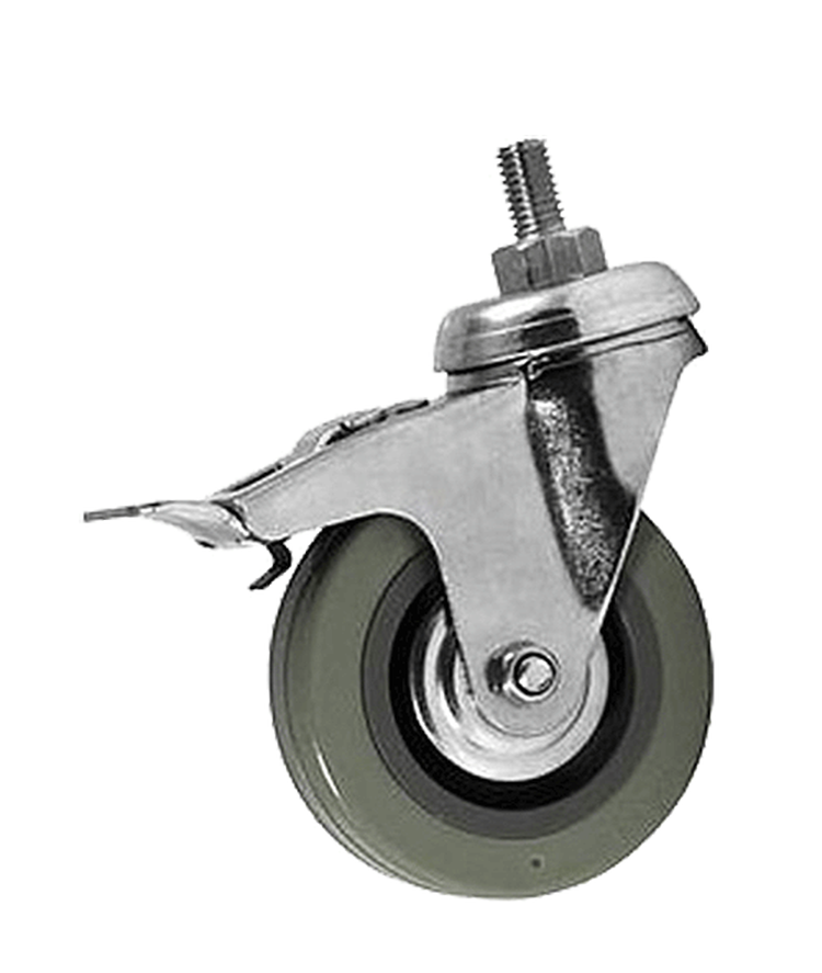 Wheel with brake M/L/XL