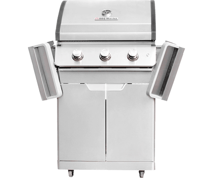 BBQ Master L Plus - Stainless steel gas grill