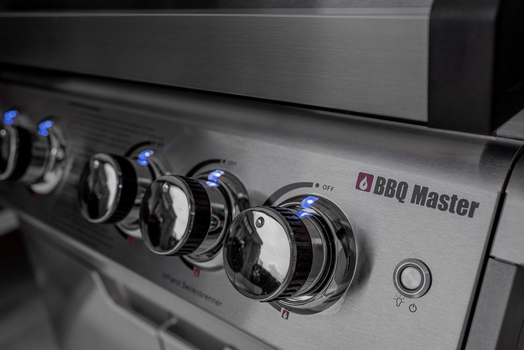 BBQ Master L Pro - Stainless Steel Gas grill