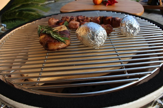 Stainless steel grill BBQ Master Kamado L