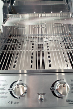 BBQ Master S Luxury - Stainless steel gas grill