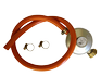 Gas Hose with Pressure Regulator without branching